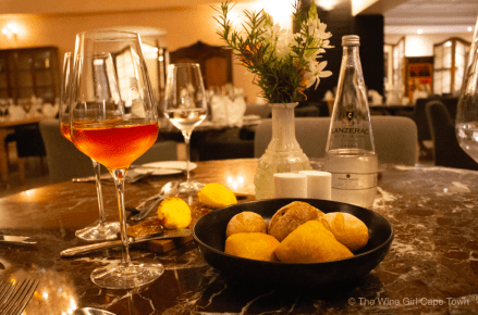 Lanzerac Wine Estate Manor Kitchen bread aperitif