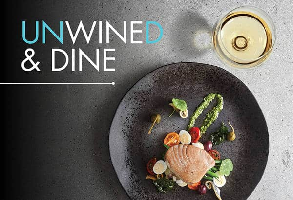 Presedent hotel wine and dine event