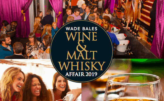 Wade Bales Wine & Malt Whisky Affair 2019