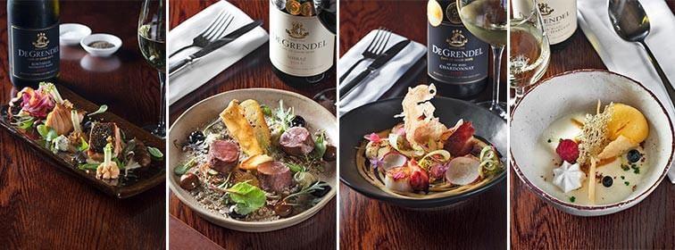 De Grendel Wines Durbanville Restaurant menu
