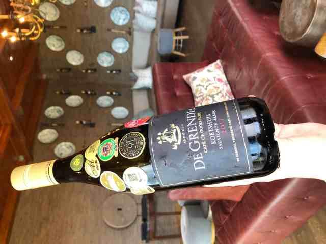 De Grendel Wines Durbanville Koetshuis wine