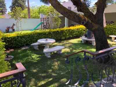 Bergsig Winery Breedekloof Wine Valley South Africa garden area