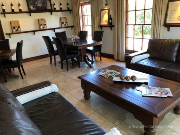 Bergsig Winery Breedekloof Wine Valley South Africa tasting room inside