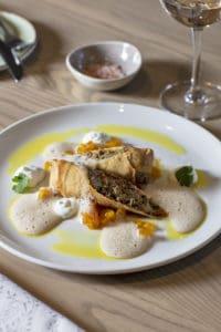 Restaurant gourmet food franschhoek
