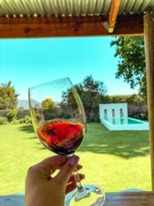 Kirabo private cellar south african wine farm breedekloof red wine
