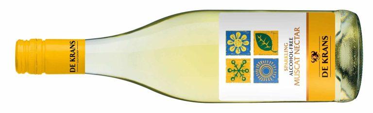 De Krans Muscat Nectar alcohol free sparkling wine