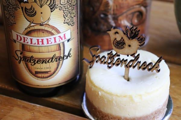 Delheim Spatzendreck & Cheesecake