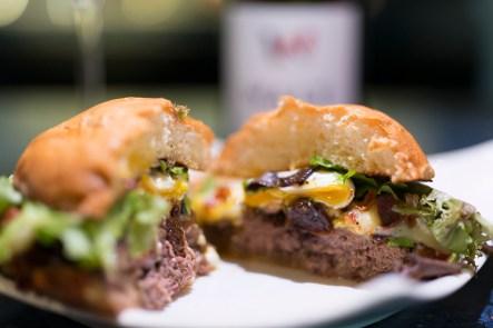 Ostrich Burger 'Carpe' Style