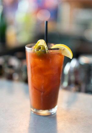 The 'Cool' Bloody Mary - Jalepeno and Cucumber Vodka