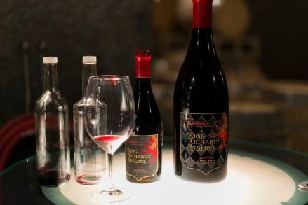 2014 Fantesca King Richard Pinot Noir - Tasting in the caves
