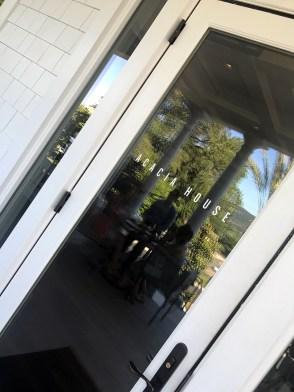 Entering the Acacia House at Las Alcobas - Saint Helena