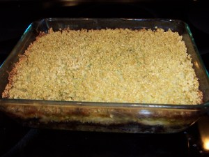 Toasted quinoa with Mediterranean flair.