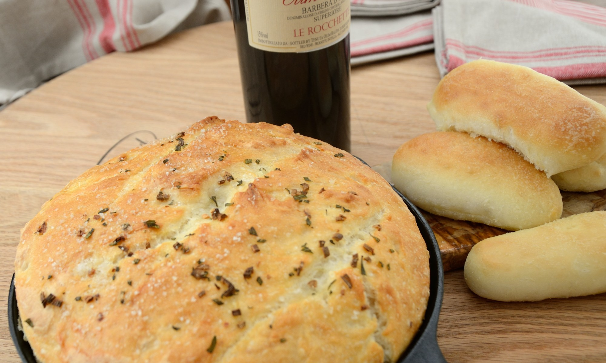 no-knead-rosemary-garlic-bread