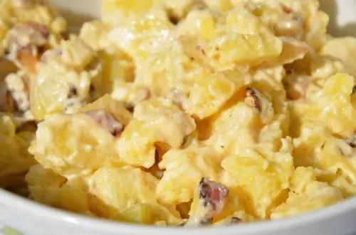 Mutual Life Cafeteria Hot Potato Salad