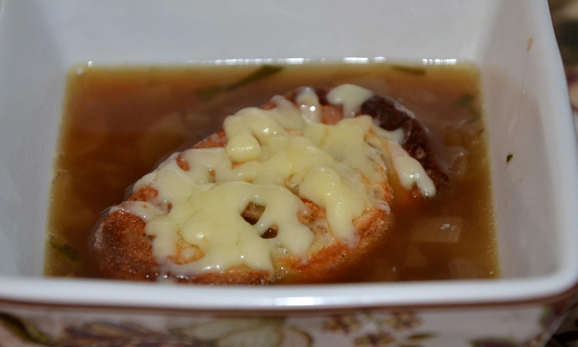 Champagne Onion Soup