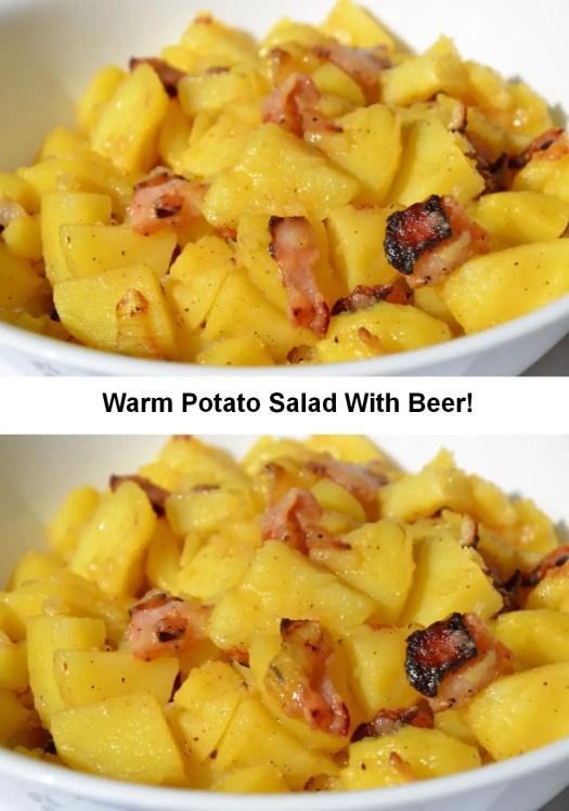 Warm Potato Salad with Beer