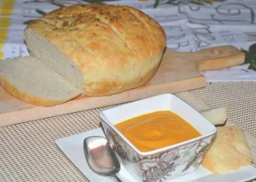 Roasted Garlic Pumpkin Soup