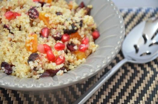 Fruited Pomegranate Quinoa