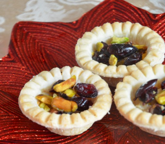 Quick, Easy Cranberry Tart Appetizers