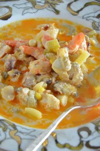 lobster-seafood-chowder