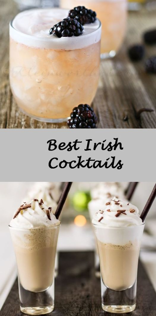 There is no doubt that the Irish know their drinks! Beer, whiskey, irish cream-hot, cold, separate- all mixed together! Here is a selection sure to please!
