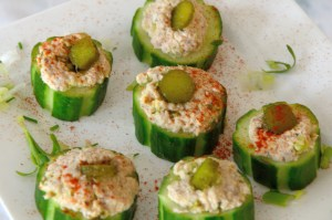 cucumber-tuna-bites