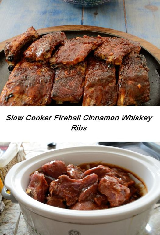 For Canada Day have these Award Winning Fireball Cinnamon Whiskey Ribs!  They use Canada's Fireball Cinnamon Whiskey in the sauce!  An unusual and very tasty take on ribs!
