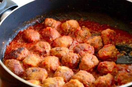 Spanish Tapas Meatballs