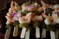 Lemon Dill Shrimp Appetizers
