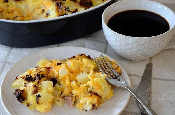 canadian-bacon-breakfast-casserole