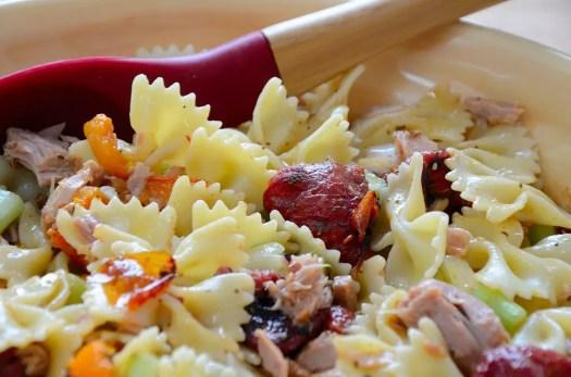 Roasted Tomato Pasta Salad