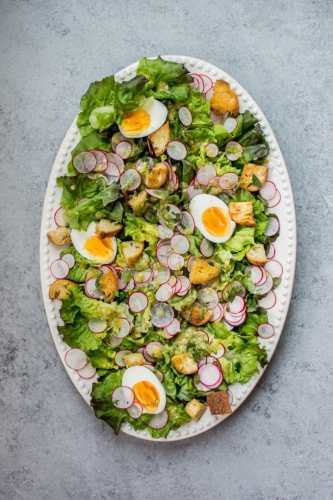 easter-butter-leaf-lettuce-salad-lemon-dill-dressing