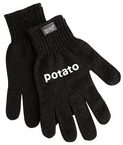 Pair of potato gloves
