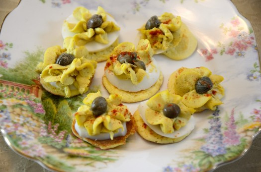 Tea Time Curried Egg Drops