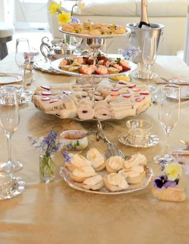 Royal Weddintg Tea Table