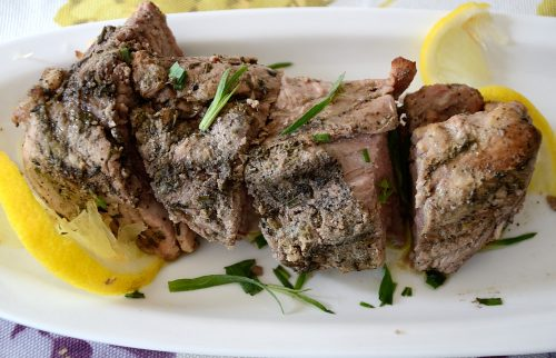 Lemon Oregano Marinated Pork Tenderloin