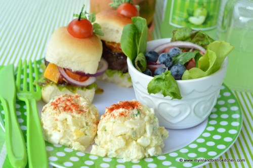 Slider Salad Sunday Picnic