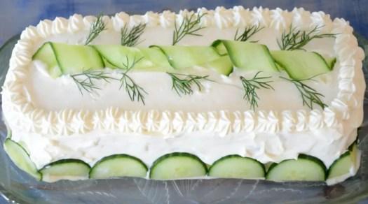 Pleasing Egg Salad Sandwich Cake The Wine Lovers Kitchen Funny Birthday Cards Online Sheoxdamsfinfo