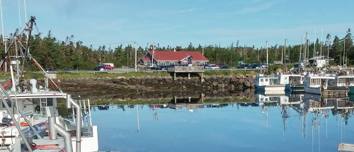 Dennis Point Cafe, Lower Pubnico, Nova Scotia
