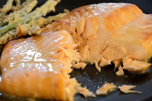Maple Dijon Salmon