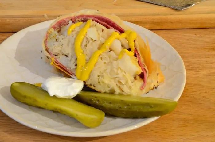 Reuben Sandwich Strudel