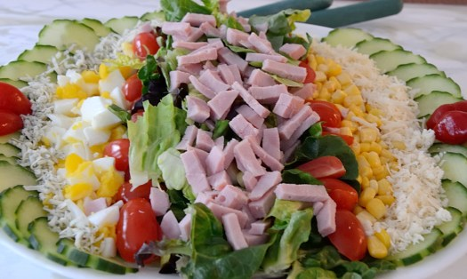 Lined Chef's Salad