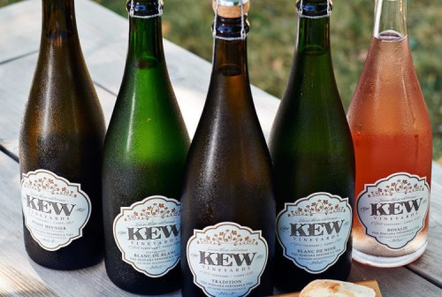 Selection of Kew Sparkling Wines