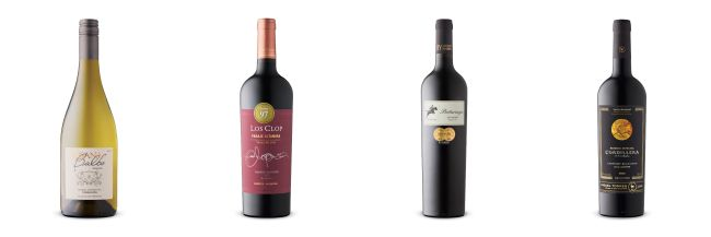 Four wine bottles from LCBO Vintages release June 8, 2019