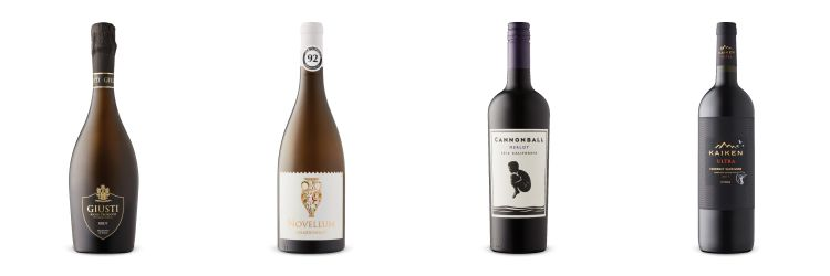 Four wine bottles from LCBO Vintages Release July 6, 2019