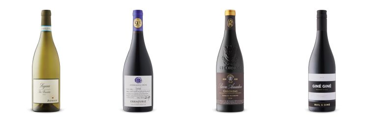 Four bottles of wine from Oct 26 2019 LCBO Vintages release