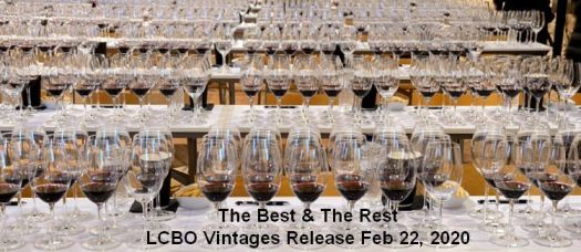 The Best and The Rest  Feb 22nd, 2020 LCBO Vintages Release