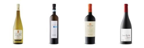 Four wine bottles from LCBO Feb 22nd Vintages Release