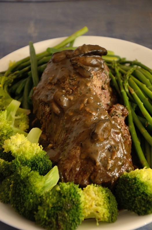 Chateaubriand with Mushroom Sauce