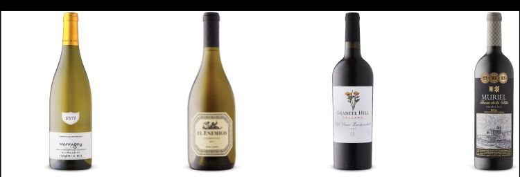 Four wine bottles from July 11 LCBO Vintages Release